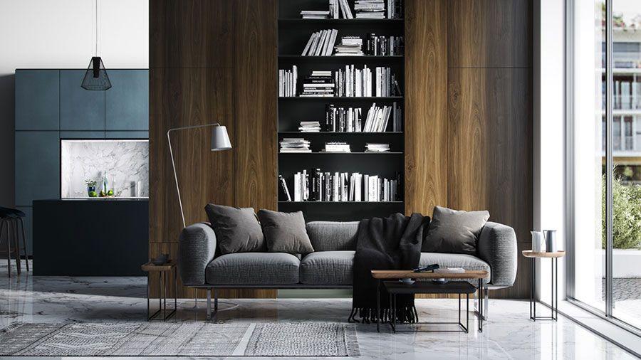 Libreria a Parete: 25 Idee di Design per Arredare il ...
