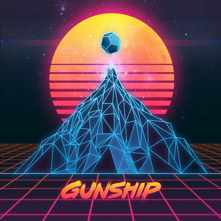 Top 10 Synthwave Album Covers of 2015 in 2019 | Mixed