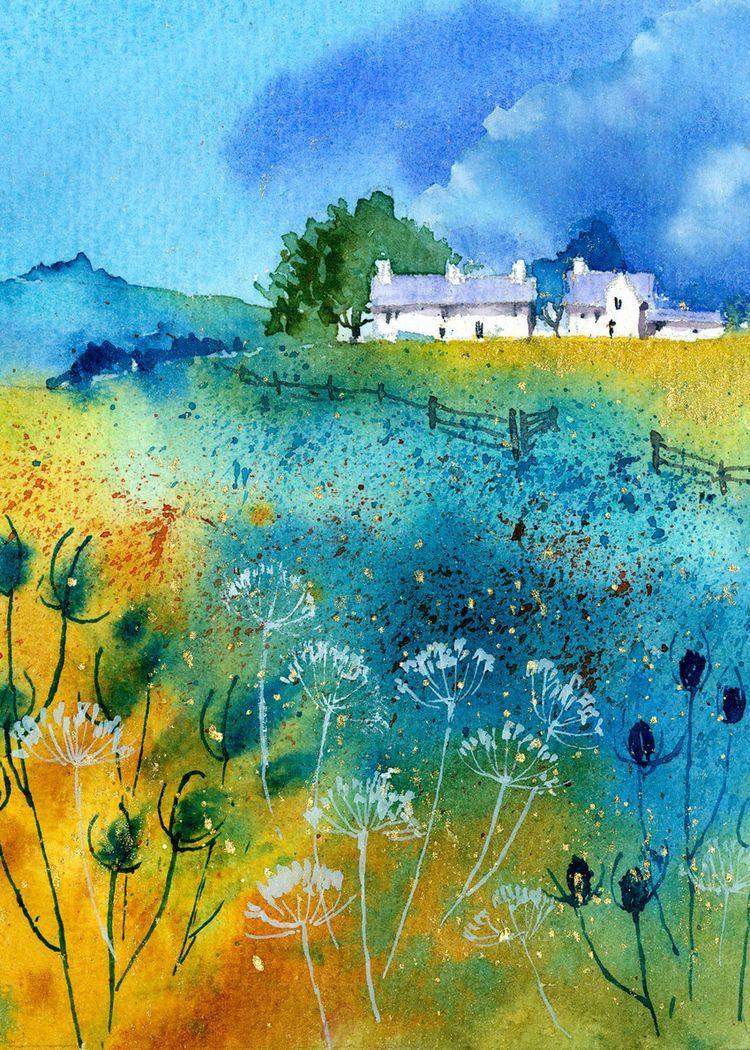 Rachel Mcnaughton Advocate Art Peinture Paysage Paysages