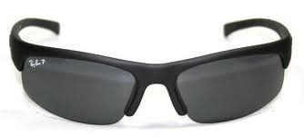 ce368d2e9ac9 New Ray Ban RB4039 601S81 Matte Black/Crystal Gray Lens 63mm Polarized  Sunglasses by Ray