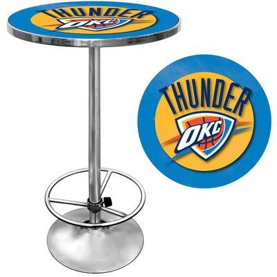 Trademark Global NBA Pub Table NBA Team: Oklahoma City Thunder