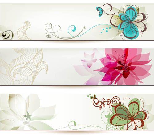 Free Flower Banner Etiquetas Para Artesanato Etiquetas Para