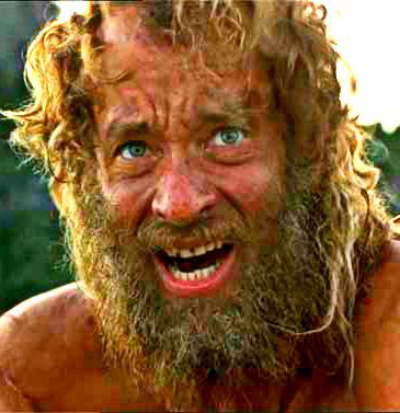 Tom Hanks as Chuck Noland - Castaway