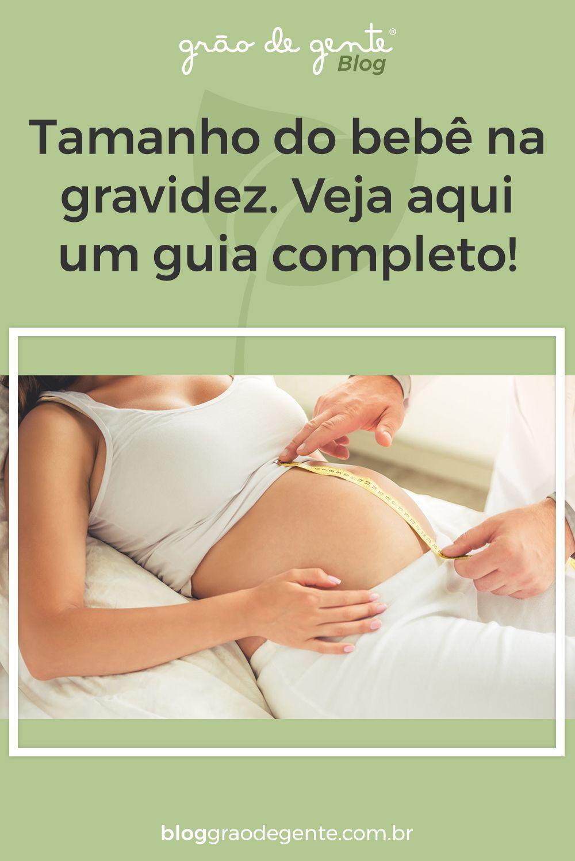 Tamanho Do Bebe Na Gravidez Veja Aqui Um Guia Completo