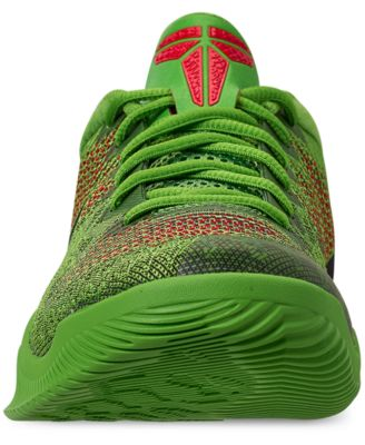 Nike Men s Kobe Mamba Rage Basketball Sneakers from Finish Line - Green 11 bf975906ab2