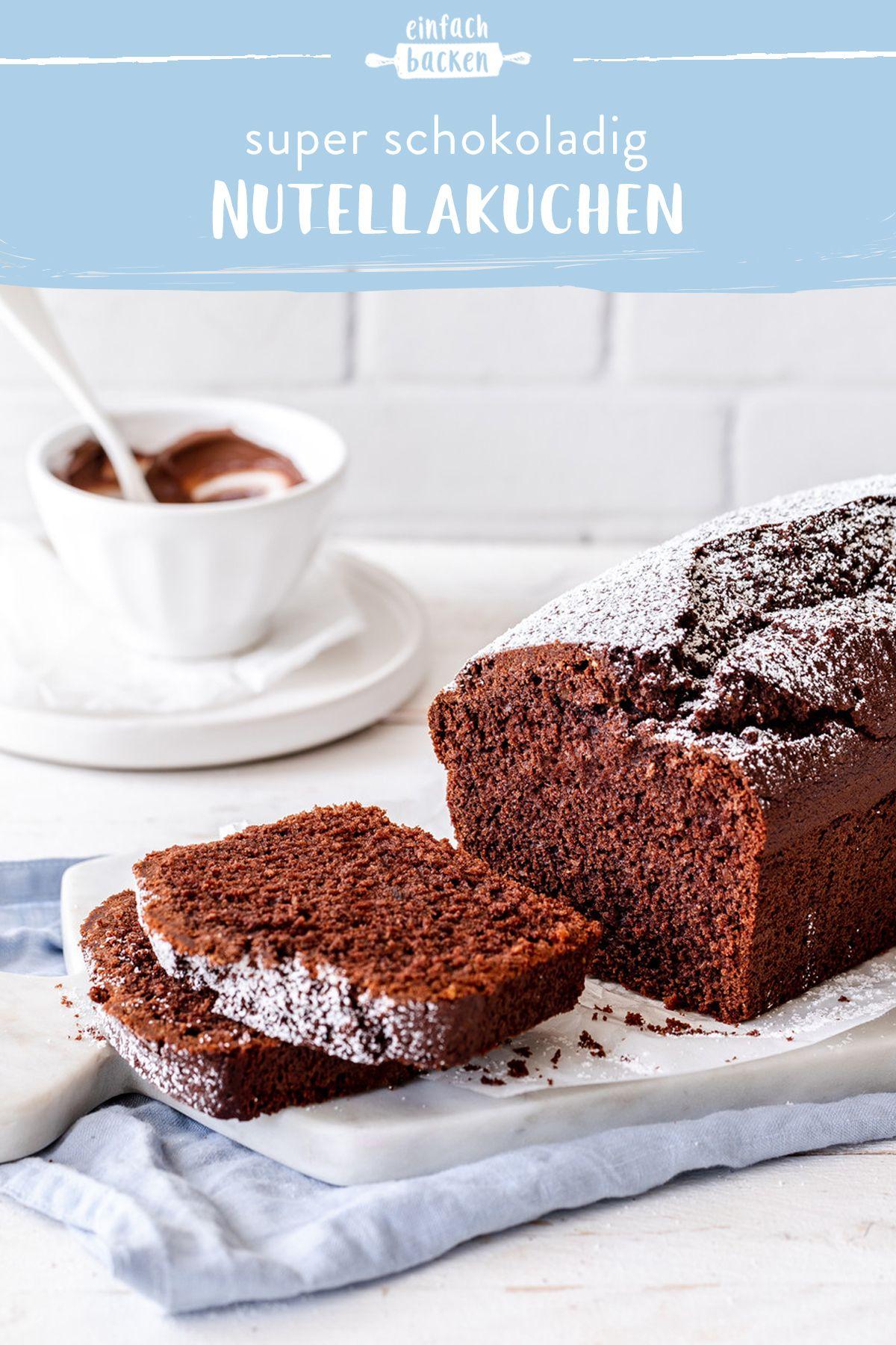 Nutellakuchen Die Besten Backrezepte Mit Gelinggarantie Rezept Nutella Kuchen Nutella Kuchen Rezept Einfach Backen