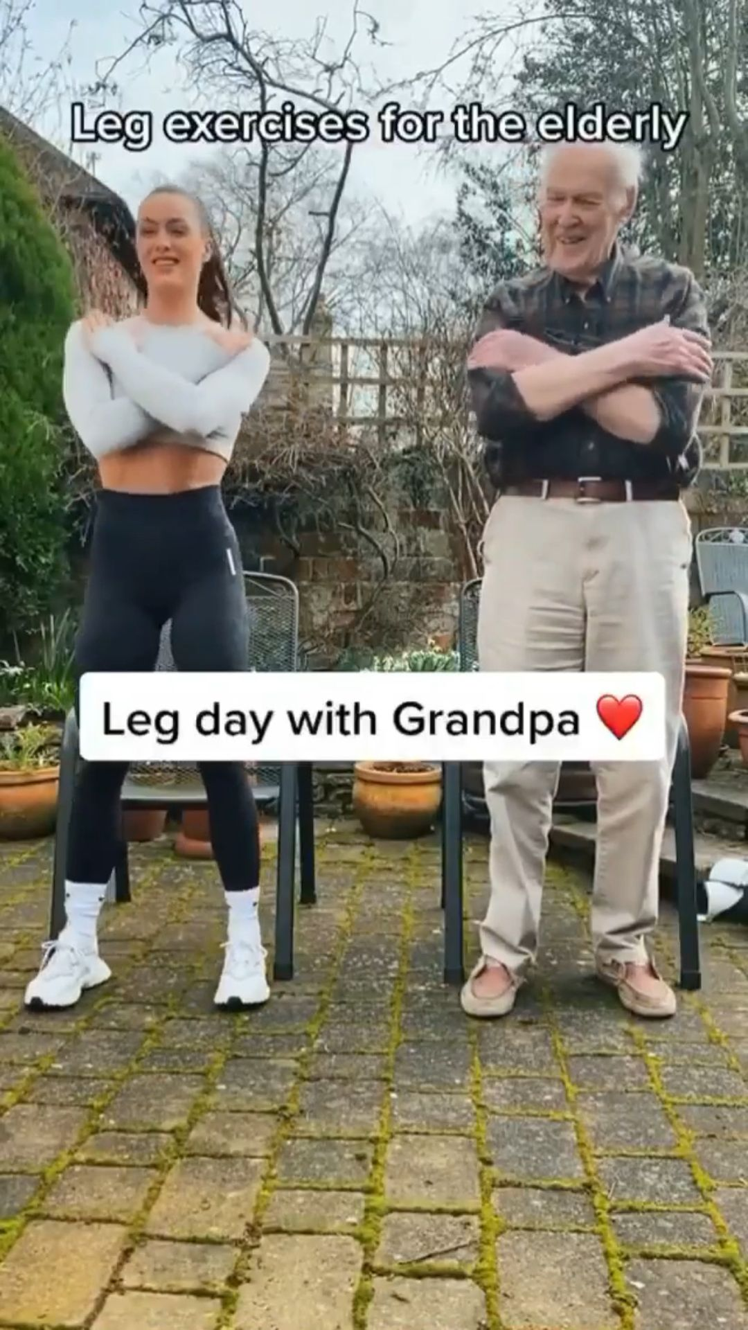 Leg Exercises for the Elderly!💪