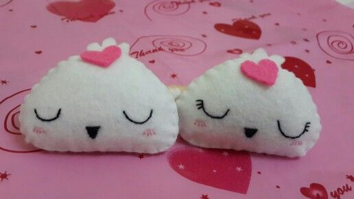 My Cute felt dumplings