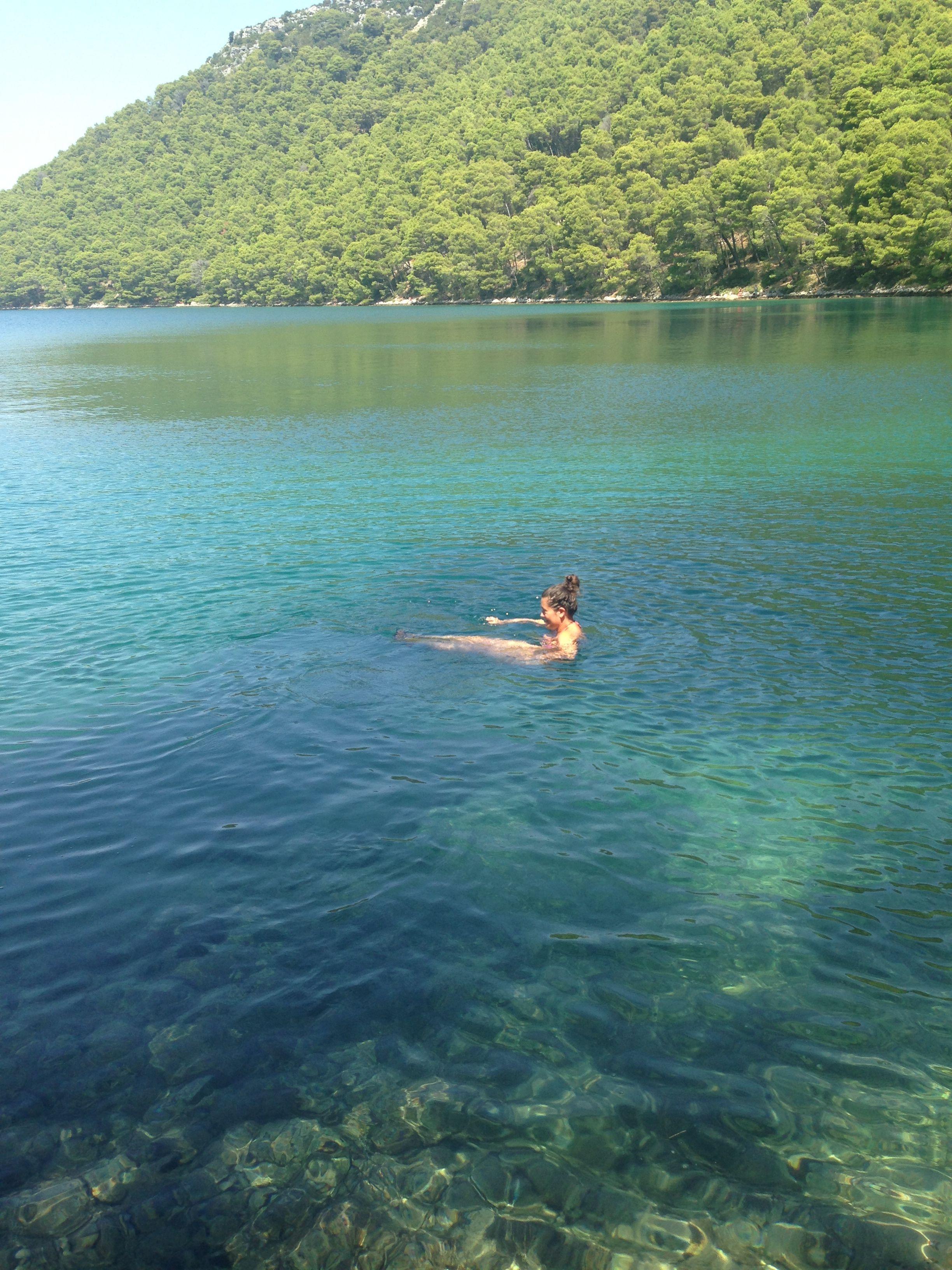 Amazing Lake In Mljet National Park Croatia Croatian Islands National Parks Croatia