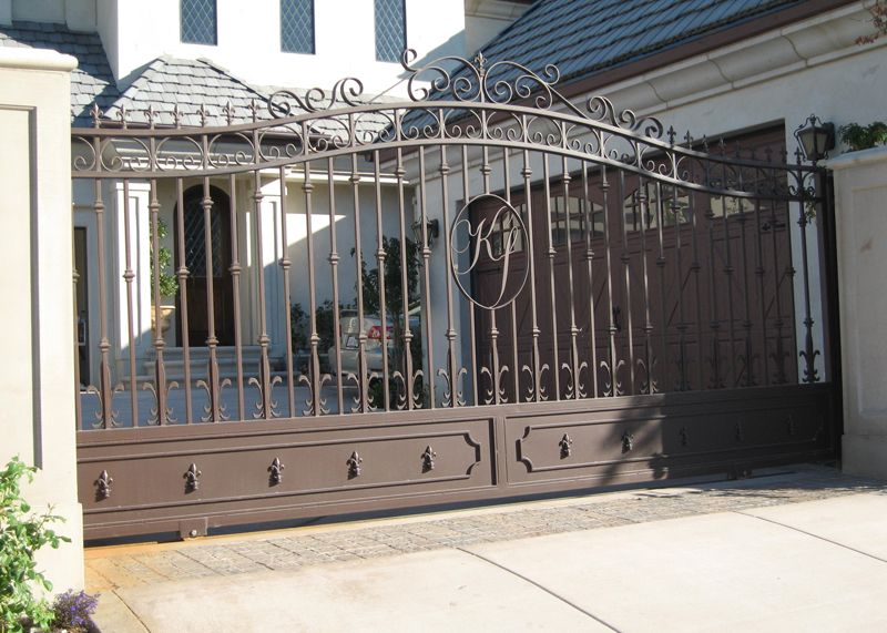 Marquez Iron Works Gallery Ornamental Iron Driveway Gates With