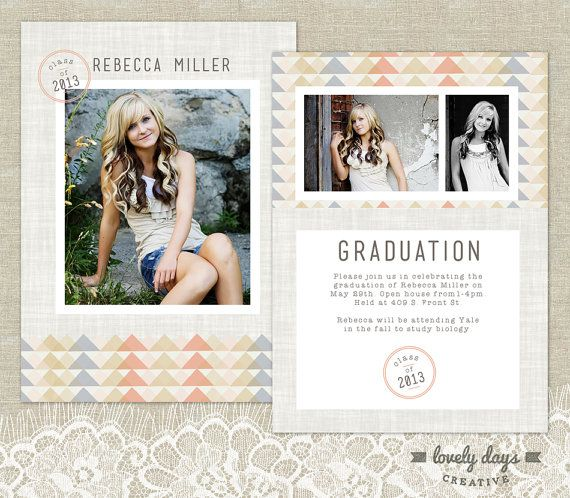 senior graduation announcement template high school graduation for photographers high schools. Black Bedroom Furniture Sets. Home Design Ideas
