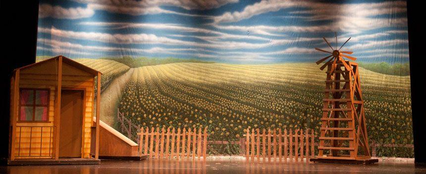 Wizard Of Oz Scenery On Pinterest Wizard Of Oz Set