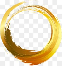 Free Download Circle Brush Painting Vector Painted Gold Ink Ai Png 1039 1112 And 0 51 Mb Ramki Shablony Vizitki