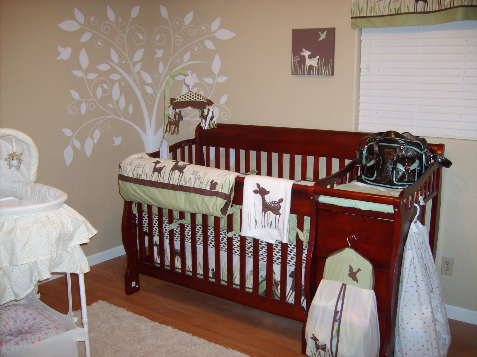 Willow Deer Nursery From Www Thesimplethingsblog Com Bettwasche