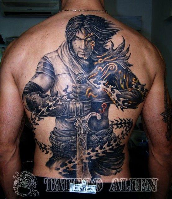 dark warrior with sword tattoo tattoos pinterest sword tattoo tattoo and tatting. Black Bedroom Furniture Sets. Home Design Ideas