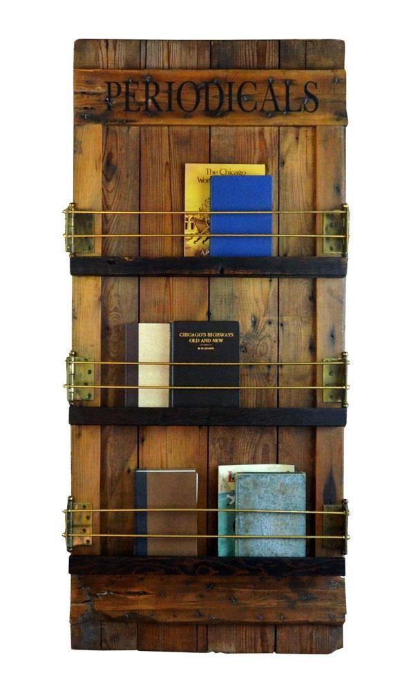 unique barn door wall mounted bookshelf and magazine rack on wall mount bookshelf id=31333