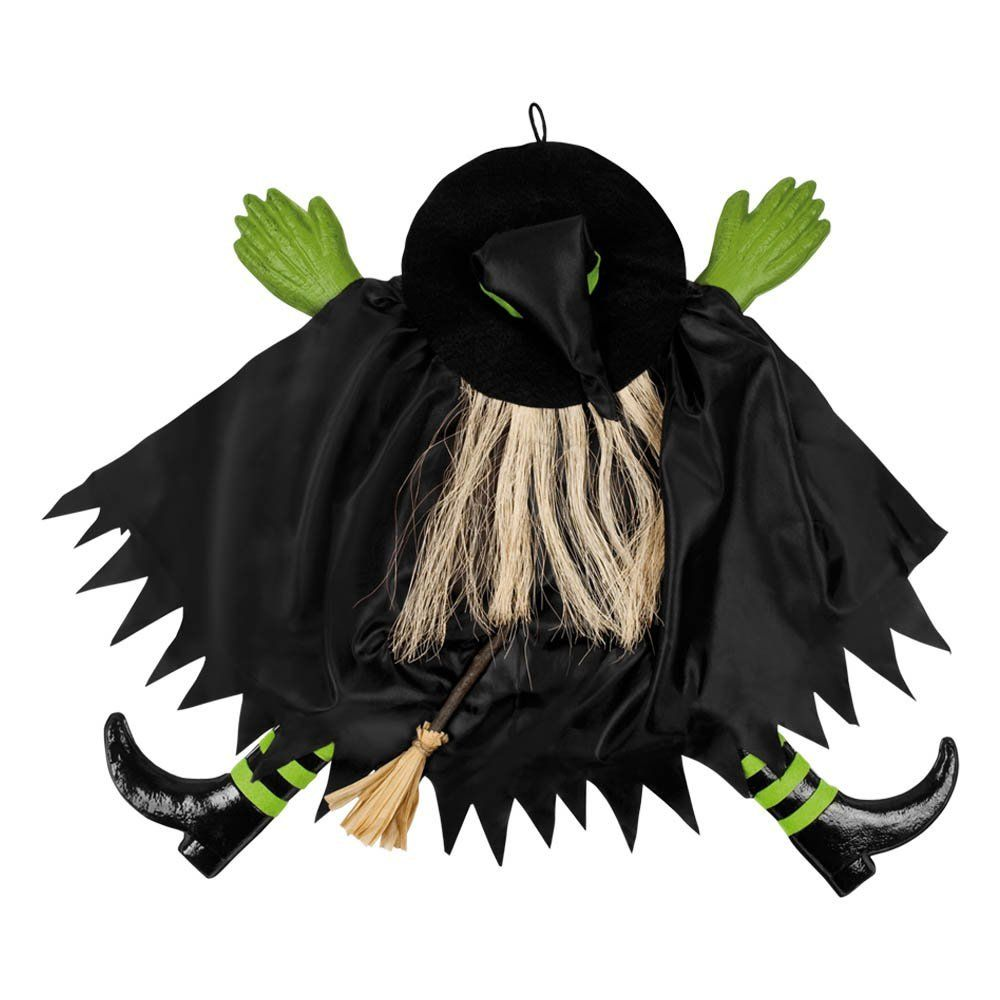 halloween party crashed smashed wicked witch wall window tree decoration amazoncouk