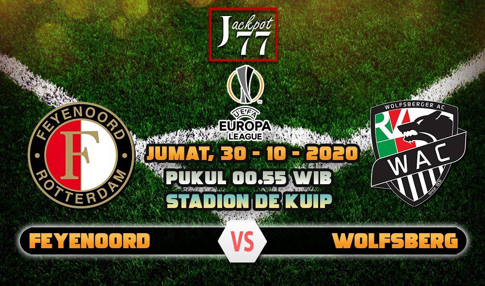 Prediksi Bola Feyenoord Vs Wolfsberg 30 Oktober 2020 Zagreb Linz Oktober