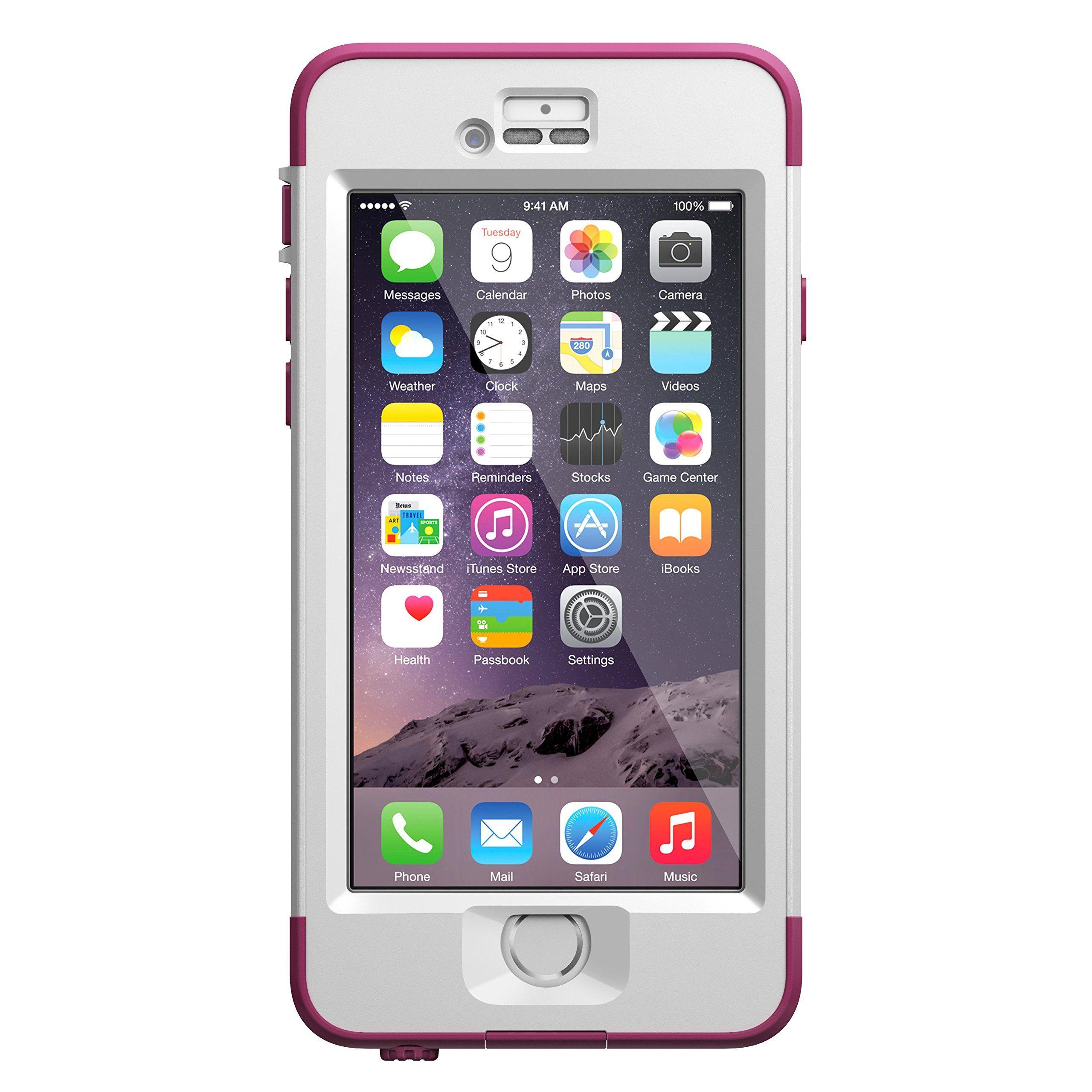 lifeproof iphone 6 case nuud series pink pursuit. Black Bedroom Furniture Sets. Home Design Ideas