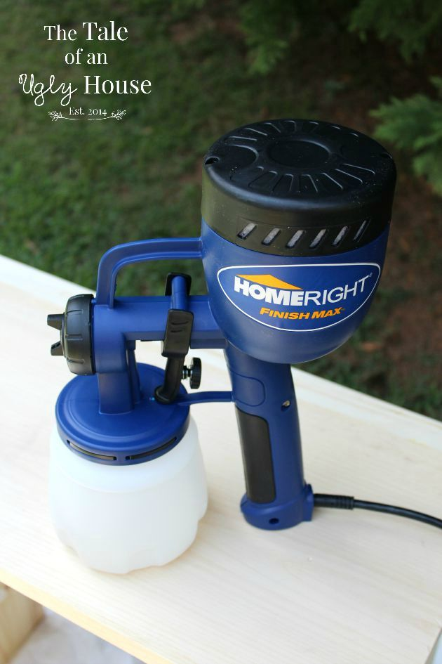 Homeright Finish Max Paint Sprayer Review Upcycling With