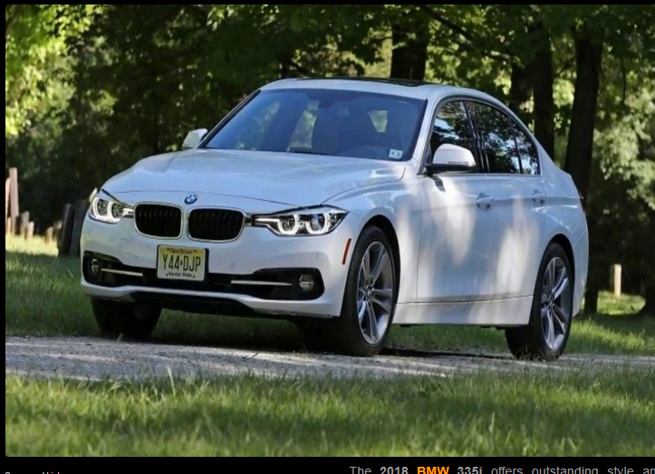The BMW I Offers Outstanding Style And Technology Both - Bmw 3 series starting price