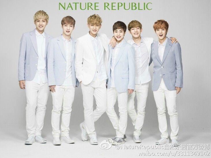 NATURE REPUBLIC EXO!!! So hawt~ >///<