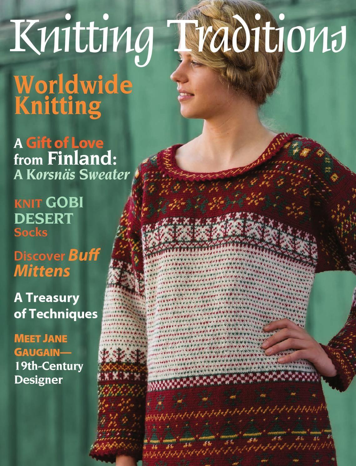 Knitting traditions fall 2011