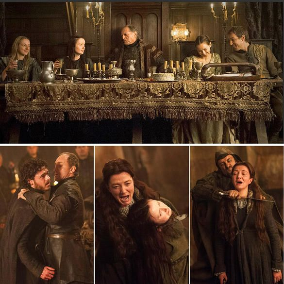 Red Wedding Got.Seven Hells Game Of Thrones Most Shocking Moments Game Of