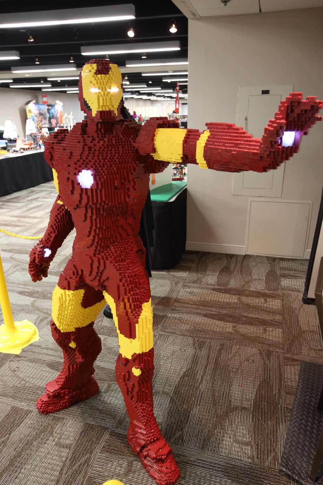 Iron Man Lego Build Epic Life-size Brick Marvel