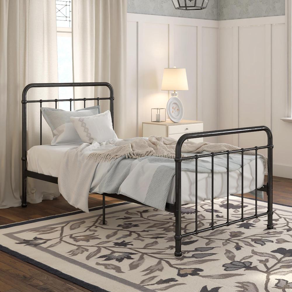 Better Homes & Gardens Kelsey Metal Platform Bed, Multiple