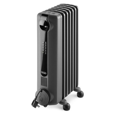 Delonghi 1500 Watt Oil Filled Radiant Electric Space Heater At Lowes Com Oil Heater Radiant Heaters Portable Heater