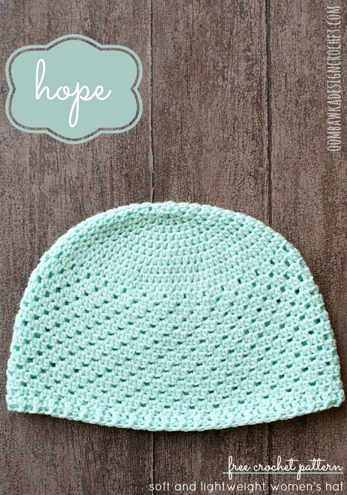 Hope - Womens Hat | Gorros, Tejer sombreros y Guantes