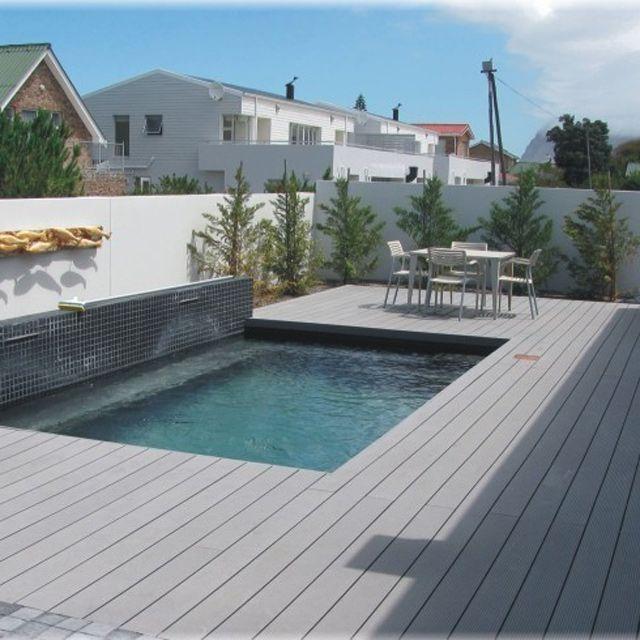 Lame De Terrasse Composite R Gris L 260 X L 14 6 Cm Terrasse Composite Lame De Terrasse Composite Lame Terrasse
