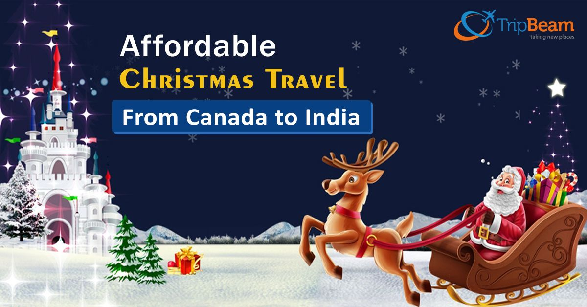 Christmas around the corner, it is a great idea to plan your journey now. Also, you can easily find Christmas ticket deals to India.   #besttimetobookflightscanada #CheapChristmasFlights2019 #cheapflightstoIndiafromCanada #cheapticketscanada #christmastraveloffers #ChristmasVacationPackages #lowfareflightstoindia