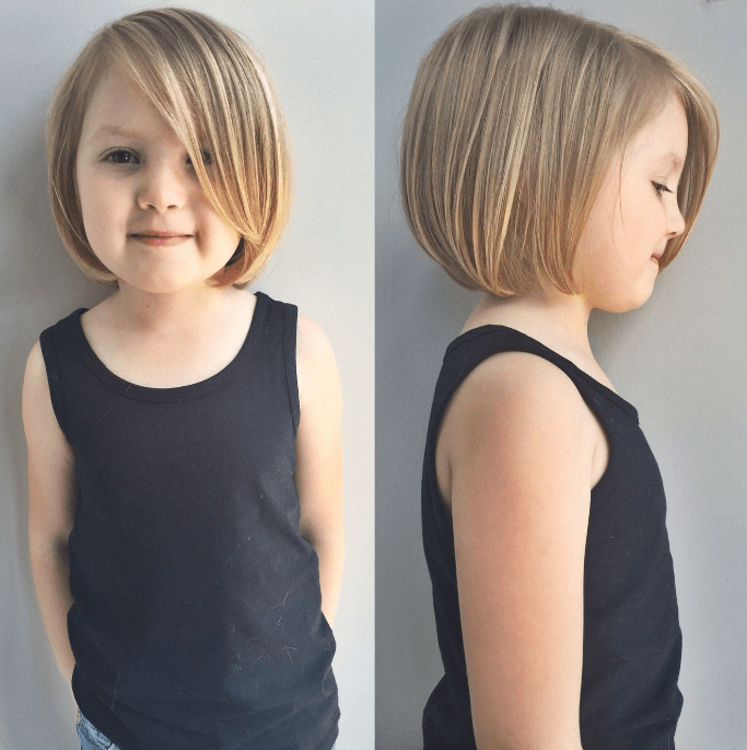 Top 20 Short Haircuts For Little Girls 2019 In 2020 Little Girl Haircuts Kids Girl Haircuts Toddler Girl Haircut
