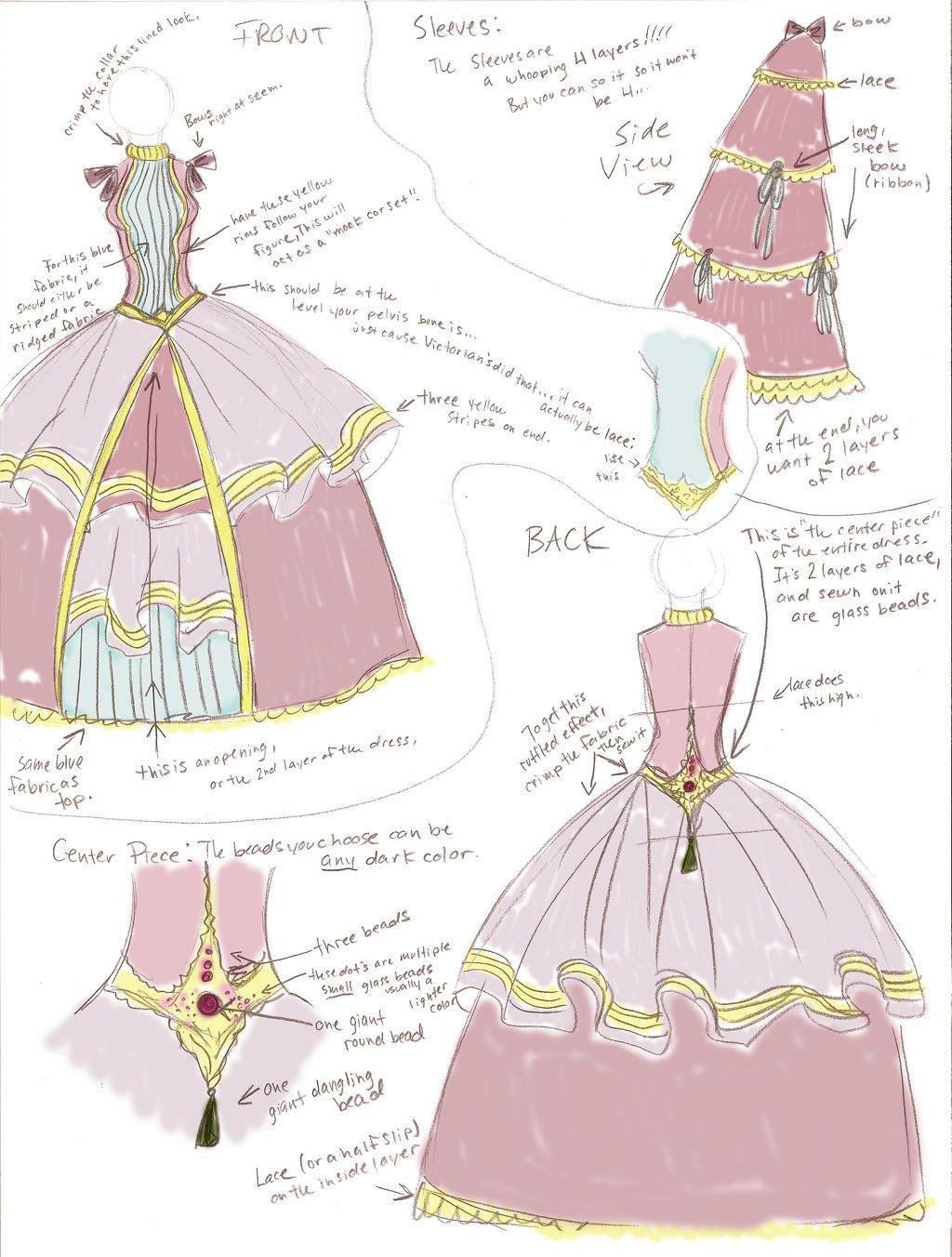 Victorian era dress colors for dark
