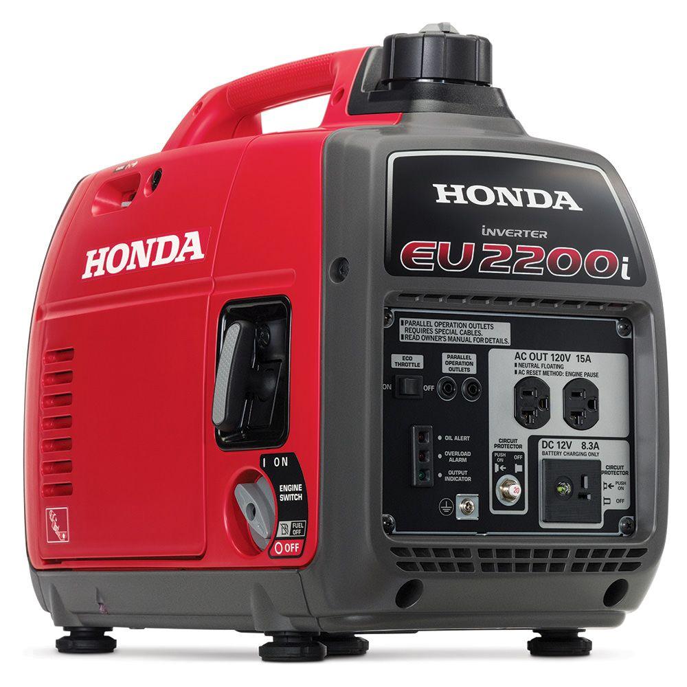 Honda Eu2200i Portable Inverter Generator Carb Compliant