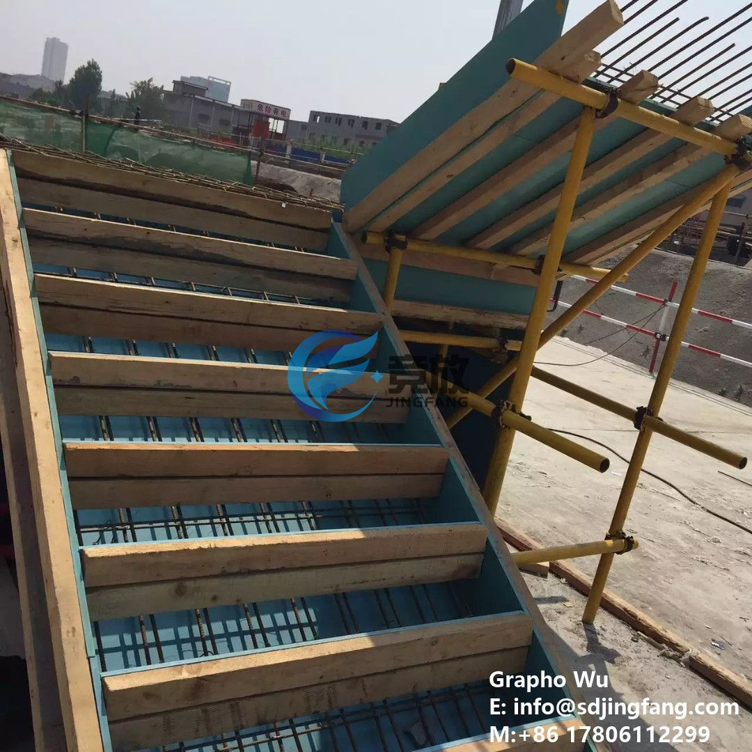 The Pvc Plastic Formwork Can Also Be Used For Stairs Completely Replace The Plywood Timber Formwork Pvc Shandong Plastic