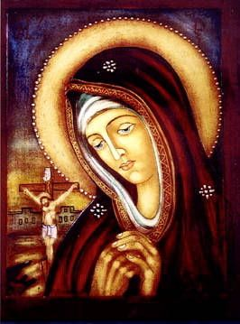 September: the month of our Lady of Sorrows