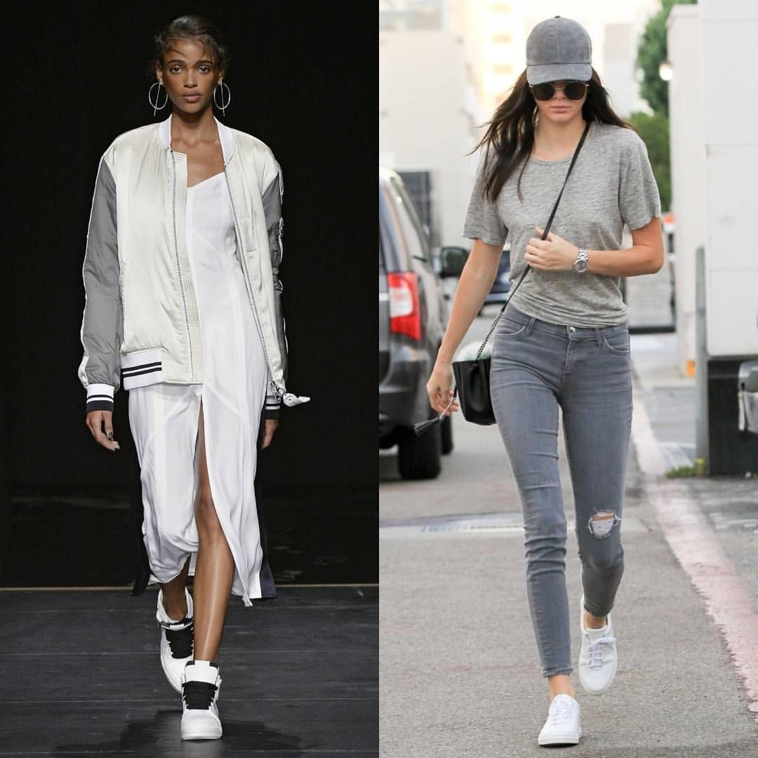 From sporty chic looks on the runway to @KendallJenner's borrowed-from-the-boys ensemble, a look at the athleisure style moments on our radar on #TheLIST. @ShopBAZAAR #ShopBAZAAR