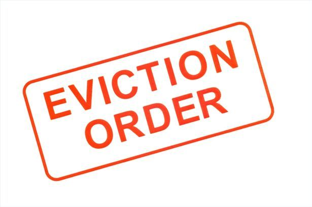 Eviction is the procedure that a lessor uses to remove a lessee - eviction notice