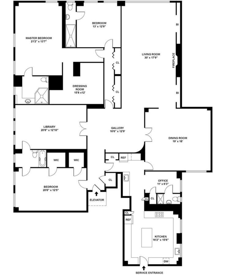 4 Bedroom Apartments Nyc