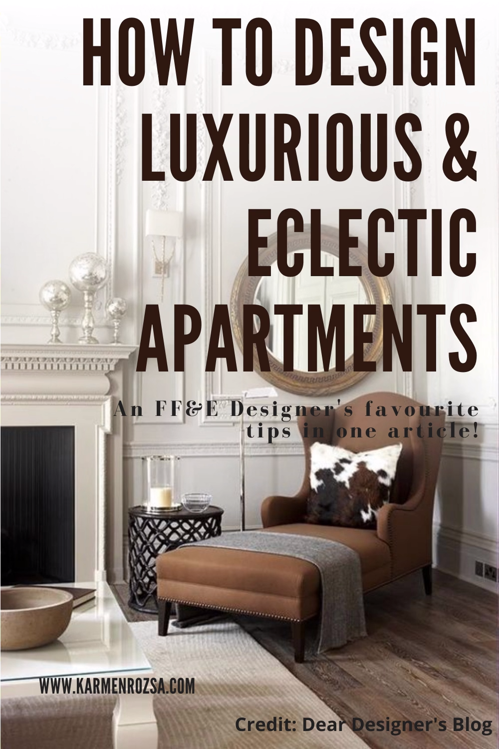 It can be easy if you try! This article will help you give some ideas, if you need to step out of your comfort zone and design an eclectic living space! #eclecticdesign #eclectichome #eclectichomedecor #homedecorstyleseclectic #eclecticdecor
