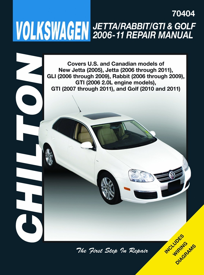 Volkswagen Jetta Rabbit Gti Golf 2006 11 Does Not Include 2005 Jetta Based On The A4 Platform Or 2006 1 8l Gti Models 2011 2 0l 8 Valve Sedan R32 Mode In 2020 Repair Manuals Chilton Car Care