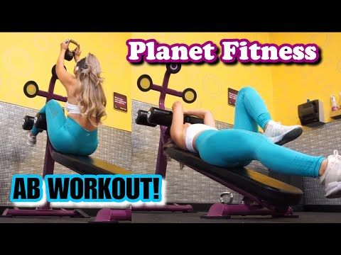 8 Ab Moves Using Decline Bench At Planet Fitness Saavyy Youtube Planet Fitness Workout Planet Fitness Workout Plan Planet Fitness Machines