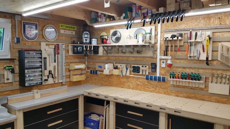 Meine Werkstatt Heimwerker Helden De Heimwerkerheldende Meine Werkstatt Workbench Rangement Outils Rangement Outil Atelier