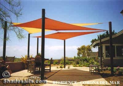 i think a sail shade would be perfect for part of my deck - Sun Sail Shade