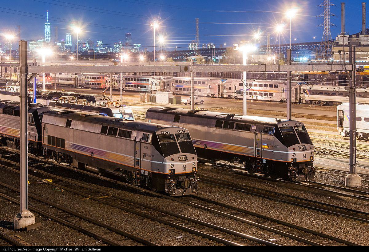 RailPictures.Net Photo: NJTR 4802 NJ Transit GE P40DC at Kearny, New ...
