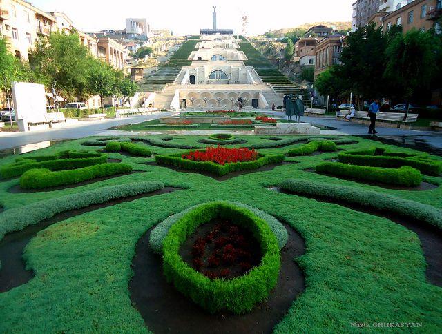 Cascade, Yerevan, Armenia