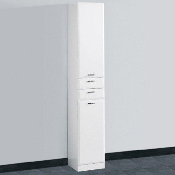 White Bathroom Tallboy